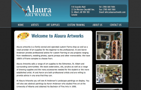 Alaura Artworks - CakePHP development and web design