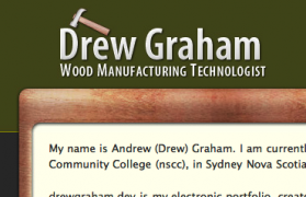Drew Graham - Wordpress development and web design
